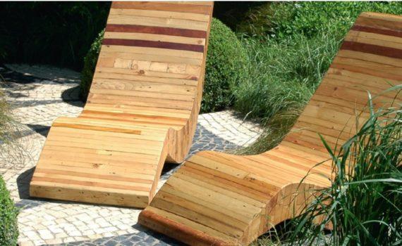 Holzliege garten  Ralf Klischke GmbH – Garten, Landschafts- und Sportplatzbau